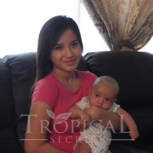 Serina Redzuawan, Tanamera Postnatal Care spokesperson, 28 yrs old